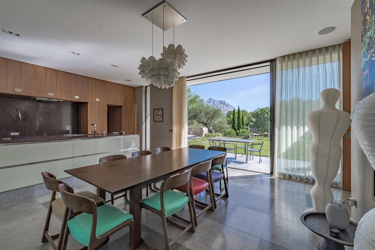 Luxury properties contemporary home in a peaceful setting