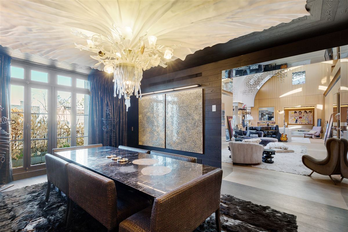 Luxury real estate magnificent penthouse with 5-star services