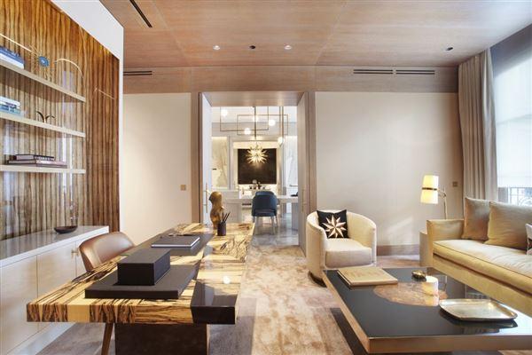 Exceptional Apartment in elegant freestone building  luxury real estate