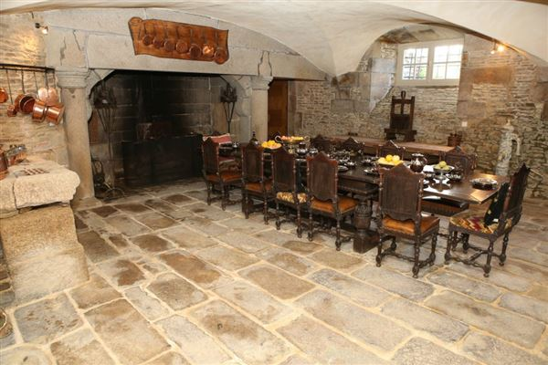 Luxury real estate a remarkable chateau in Le Mont St Michel