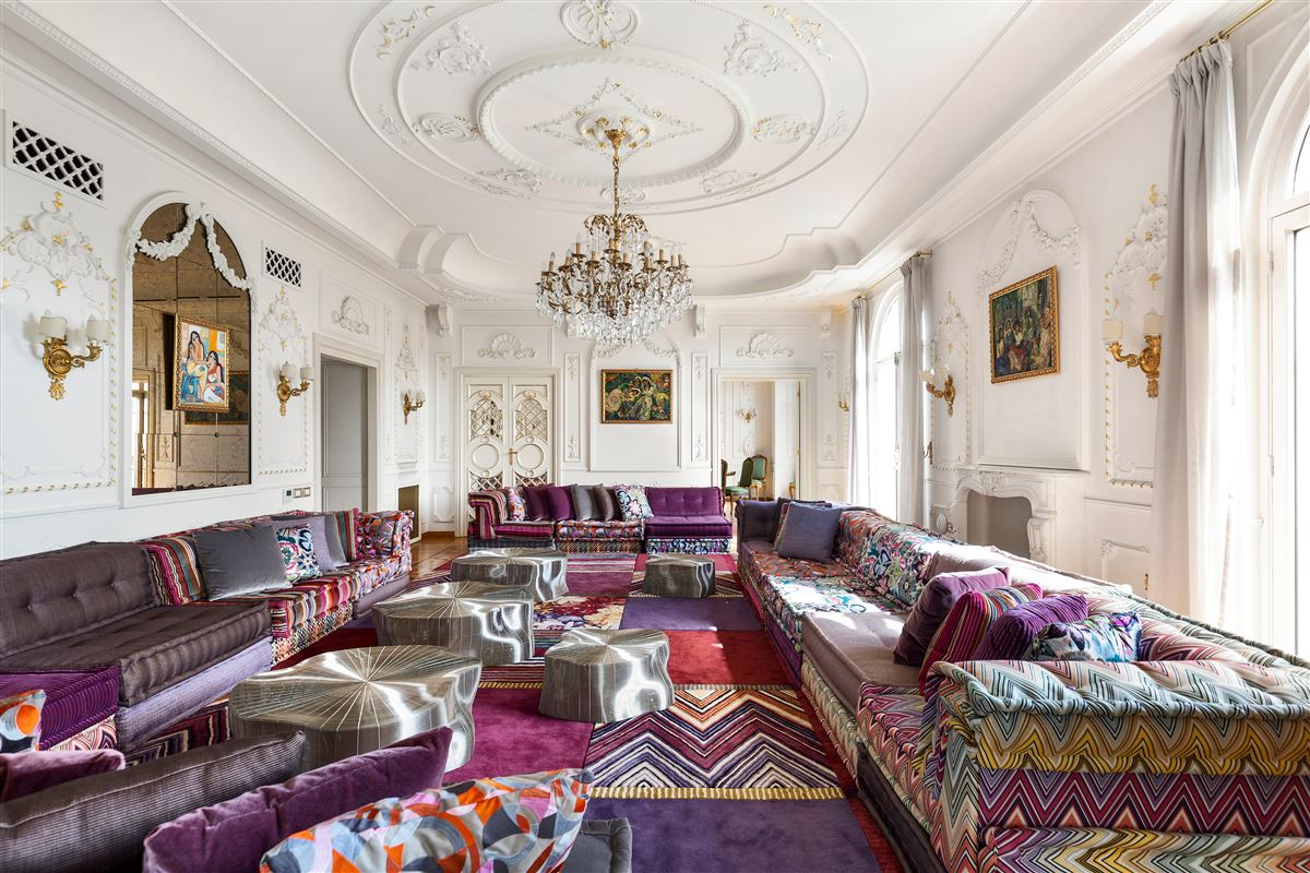 Luxury real estate particularly refined apartment