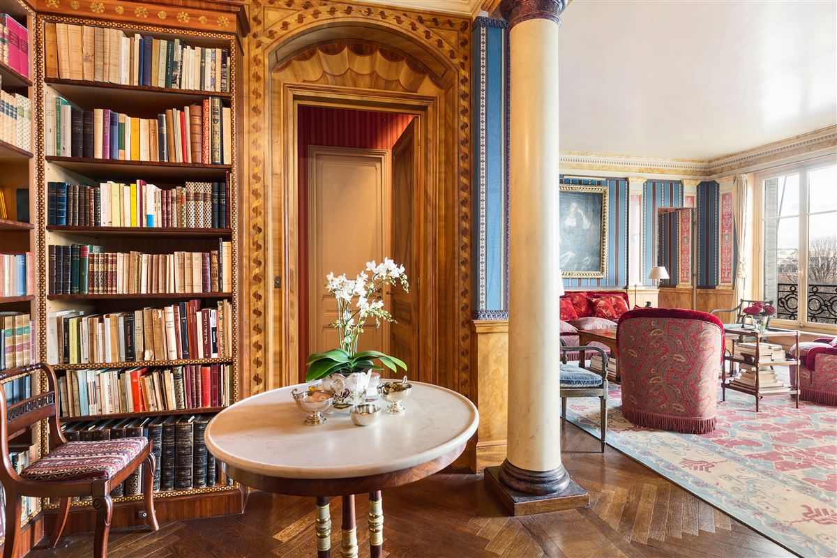Rare address and view in Paris luxury real estate