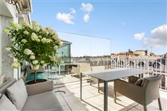 Luxury properties modern loft-style apartment with panoramic view