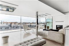 modern loft-style apartment with panoramic view mansions