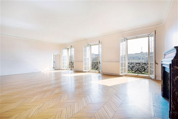 Luxury real estate beautiful light-filled apartment with open views