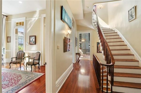 Luxury homes in Grand and gorgeous 1860s Greek revival mansion