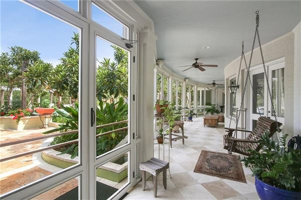 Mansions in Spectacular one of a kind property in coveted Brady Island Subdivision