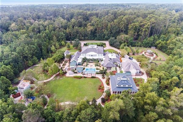Mansions Spectacular one of a kind property in coveted Brady Island Subdivision