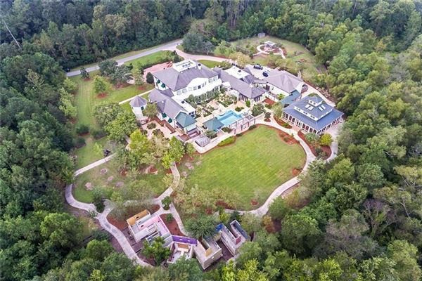 Spectacular one of a kind property in coveted Brady Island Subdivision mansions