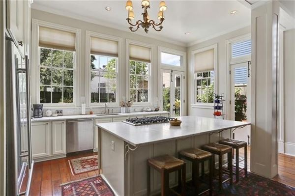 Luxury living in the very hip Lower Garden District luxury real estate