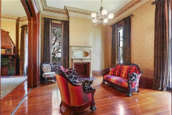 restored Victorian mansion - once owned by Anne Rice luxury homes