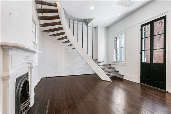 Luxury homes in beautifully renovated 1860s Italianate mansion