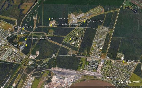 Approximately 12 acres in proximity to Huey P Long Bridge and Mississippi River luxury real estate