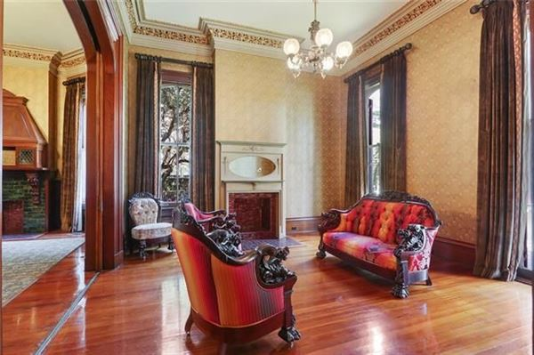 restored Victorian mansion once owned by Anne Rice luxury homes
