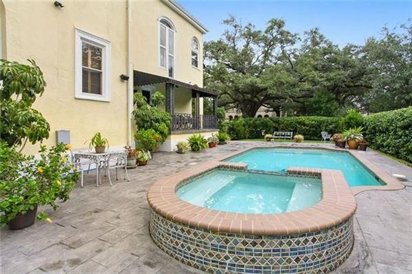 Luxury homes Beautiful mansion on lush oversized corner lot