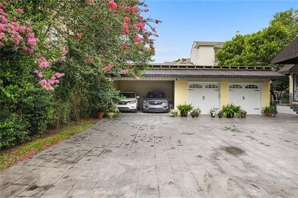 Luxury real estate Beautiful mansion on lush oversized corner lot