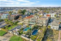 Luxury homes in Seal Beach Gold Coast home with amazing views