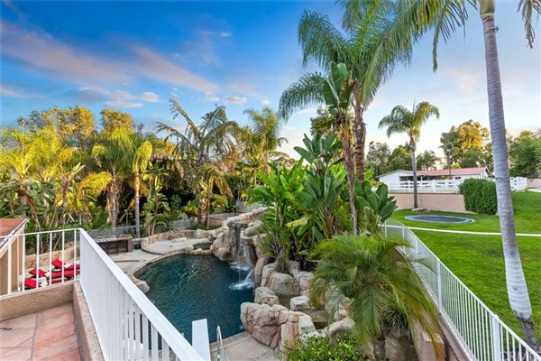 Tropical paradise in Nellie Gail Ranch mansions