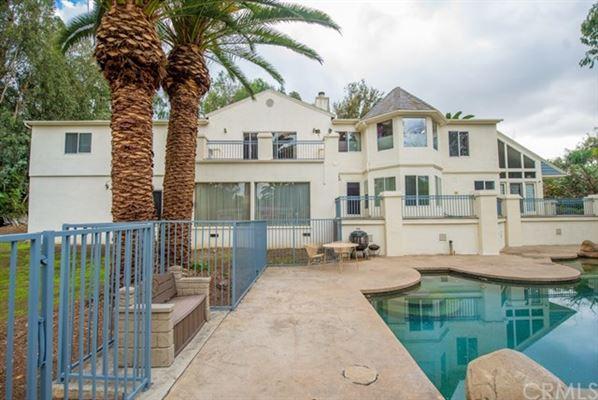 Mansions in Beautiful privately gated custom estate in prestigious Peralta Hills