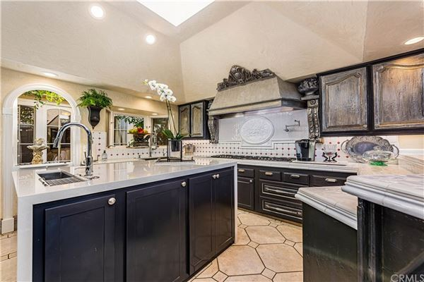 Luxury real estate incredible European-style estate home in irvine