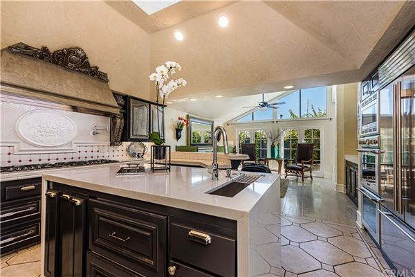 Luxury homes in incredible European-style estate home in irvine
