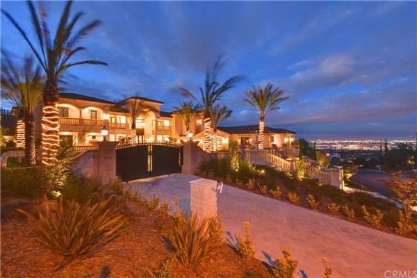 Mansions Spectacular Mediterranean Estate