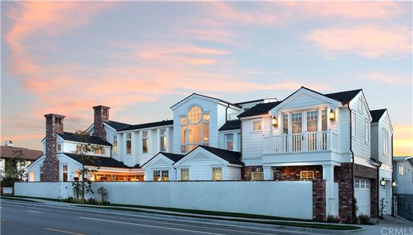 Luxury real estate signature residence on a corner lot
