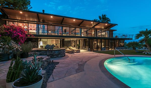 The Alexander House In Palm Springs California Luxury