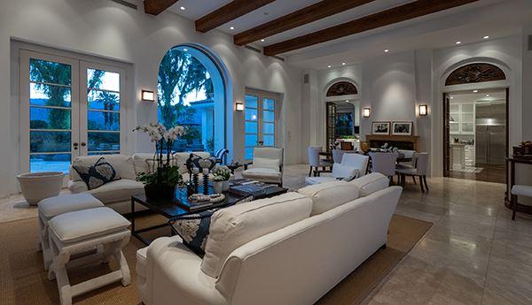 Luxury real estate gracious and casually elegant contemporary Villa