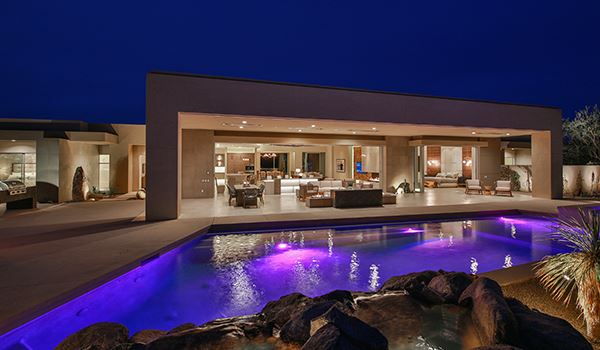 Luxury homes cutting edge new construction