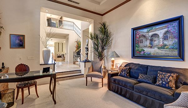 Luxury real estate unique home in Indian Ridge Country Club