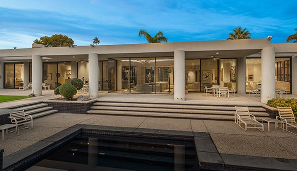 Luxury homes incredible views at fabulous Tamarisk CC