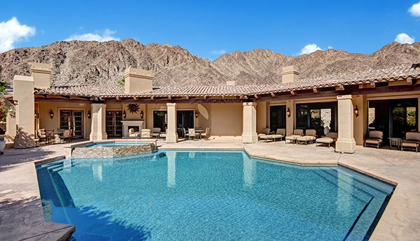 Luxury real estate luxury desert escape