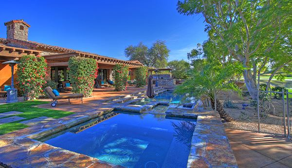 Luxury real estate South facing Tuscan estate with exquisite finishes