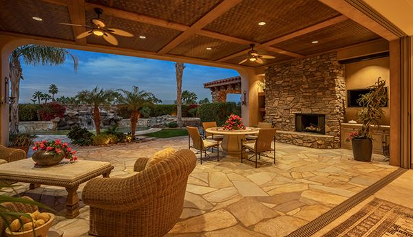 Luxury homes in Elevated view estate at The Highlands of Ironwood Country Club