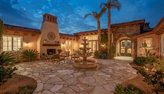 Luxury homes Elevated view estate at The Highlands of Ironwood Country Club