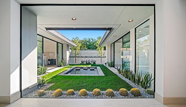 Mansions beautiful completely remodeled modern home