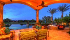a Mediterranean Lakeside Estate  luxury real estate