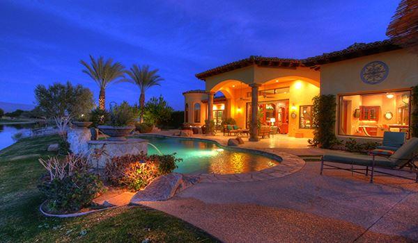 Luxury homes a Mediterranean Lakeside Estate