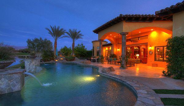 a Mediterranean Lakeside Estate  luxury homes