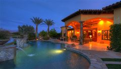 a Mediterranean Lakeside Estate  mansions