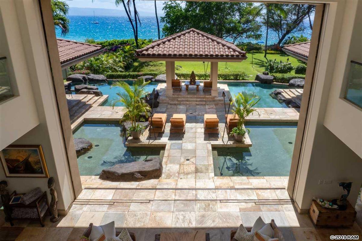 Kaanapali Beachfront Masterpiece luxury real estate