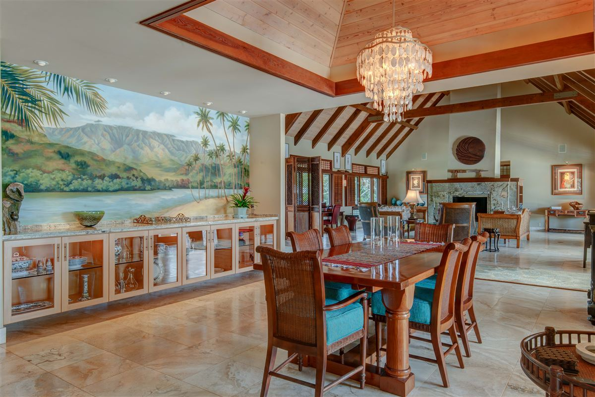 perfect Hawaiian portrait luxury real estate
