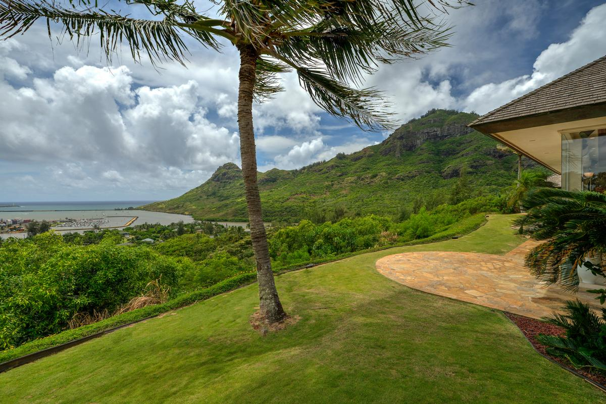 Spectacular view estate in Lihue luxury homes