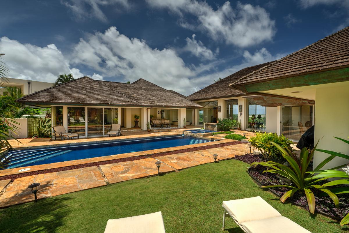 Luxury real estate Spectacular view estate in Lihue