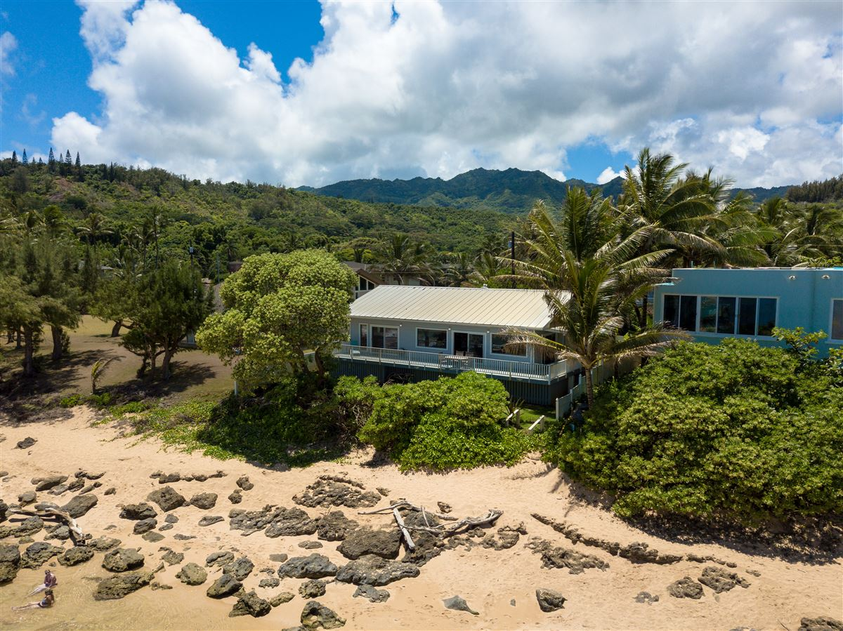 Unique Beachfront Home in Moloaa Bay luxury properties