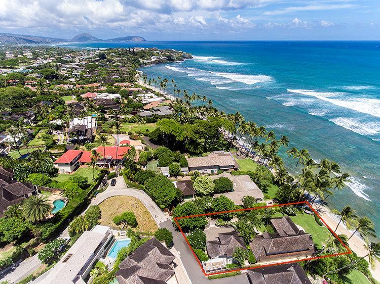 Beachfront Diamond Head Retreat Hawaii Luxury Homes Mansions For