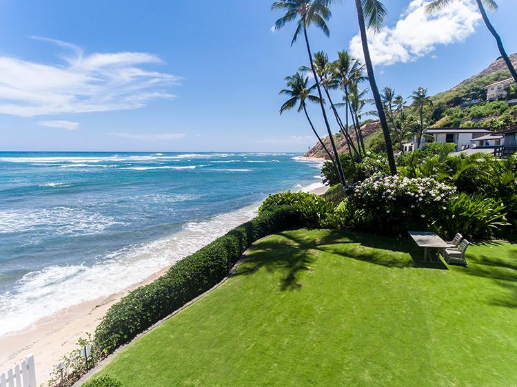 beachfront diamond head retreat luxury homes