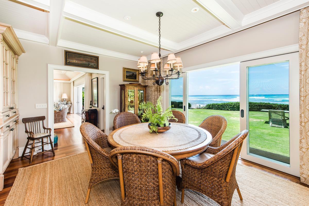 Luxury properties beachfront diamond head retreat