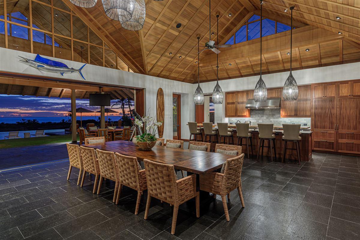Luxury homes in ultimate luxury living on the Big Island of Hawaii